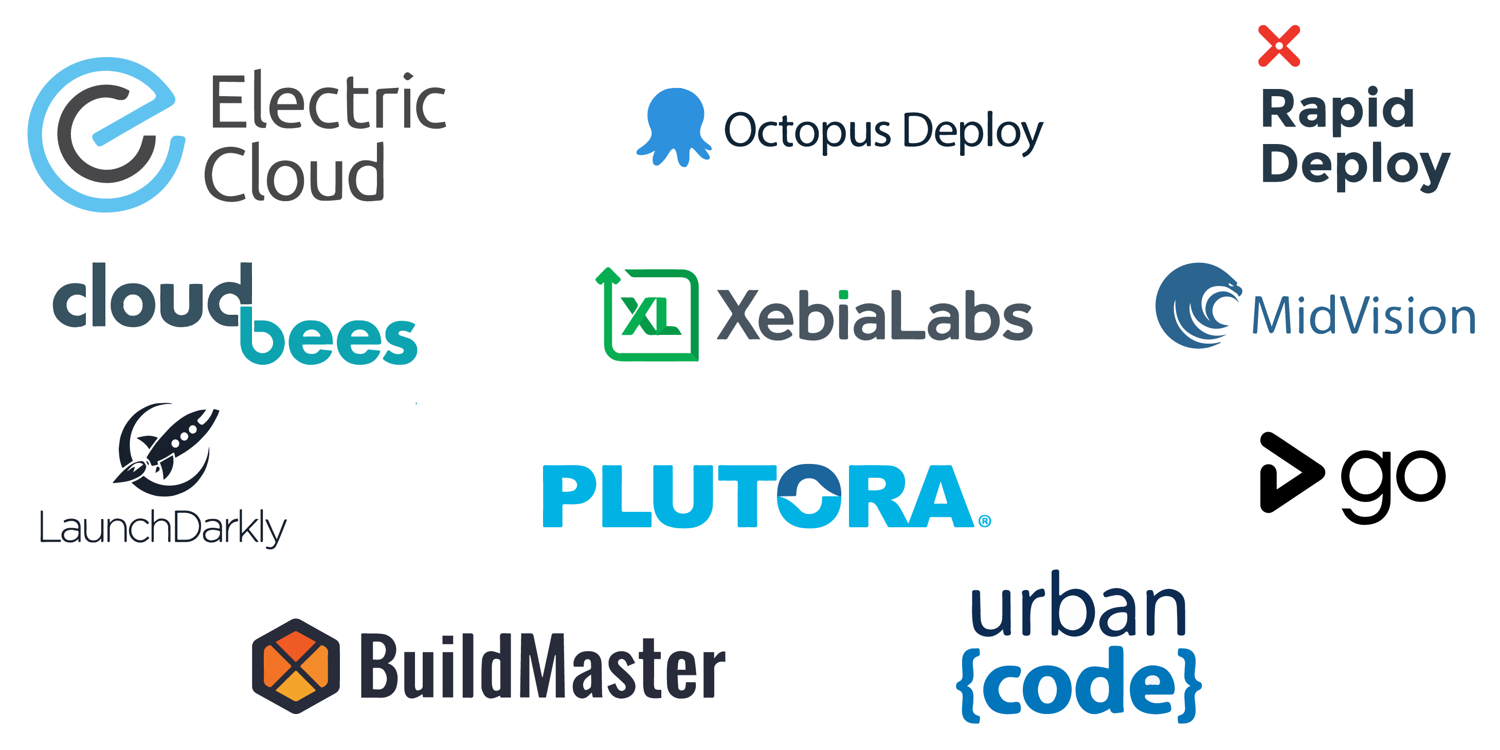 company logos of best release automation software