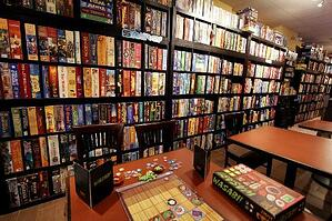 Wall of Board Games