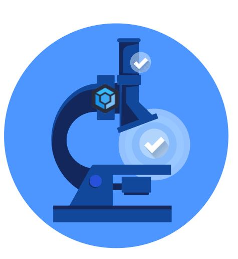 microscope for quality assurance with ProGet logo