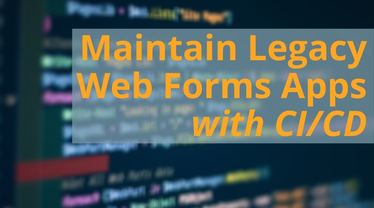 Web Forms CI_CD