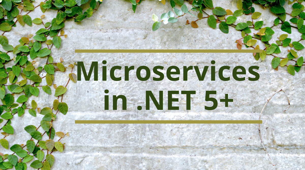 Microservices in .NET 5+